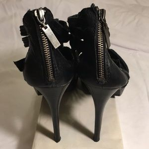 Dolce Vita Shoes - Dolce Vita Black Leather High Heel Shoes
